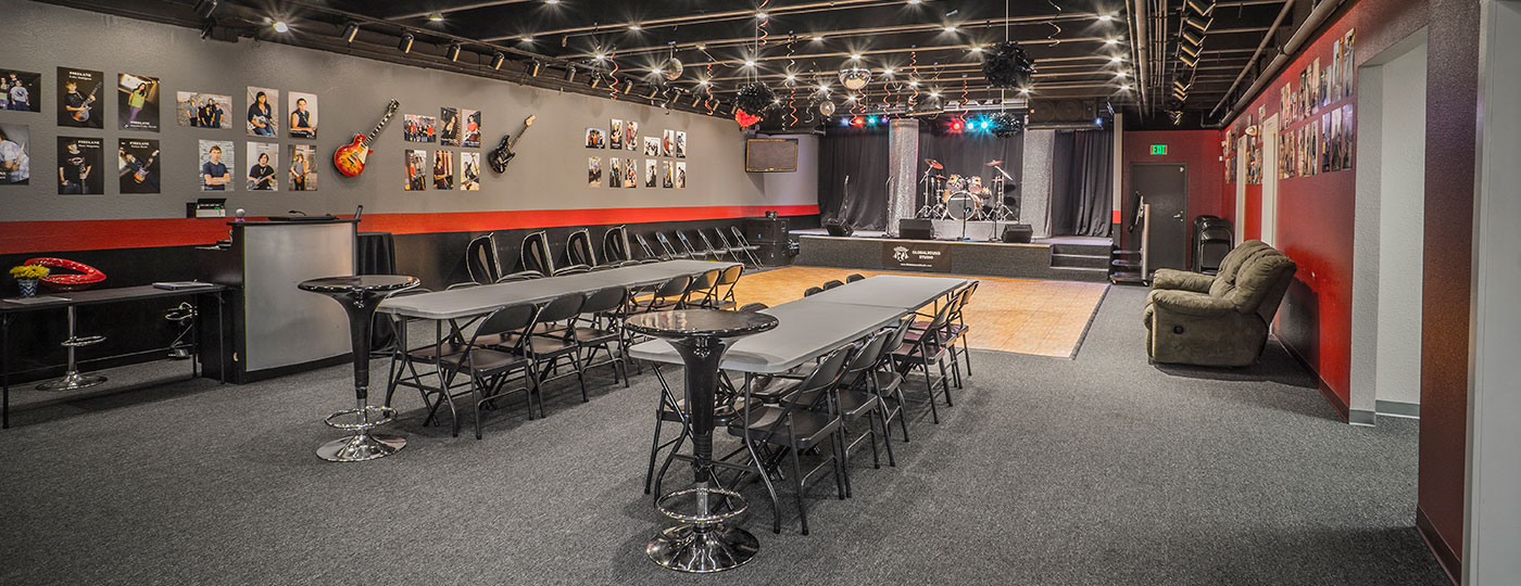 Performance and party room