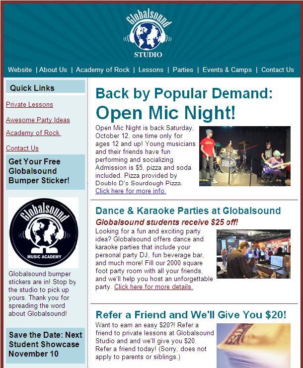 Westminster Music School News